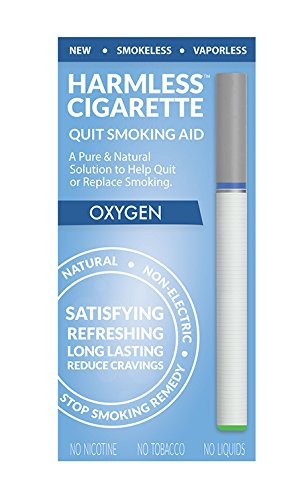 Harmless Cigarette Quit Smoking Aid. Therapeutic Solution Helps Make it Easy to Quit & Replace Smoking. (Stop Smoking Aid. / Easy Way To Quit.)