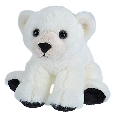 Wild Republic Polar Bear Baby  Plush, Stuffed Animal, Plush Toy, Gifts for Kids, Cuddlekins 8 Inches