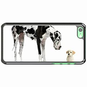 iPhone 5C Black Hardshell Case dalmatian puppy adult Desin Images Protector Back Cover by runtopwell