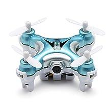 EACHINE E10W Mini Wifi FPV Quadcopter Drone with HD Camera 2.4G 4CH 6 Axis LED Remote Control Nano Quadcopter RTF Mode 2
