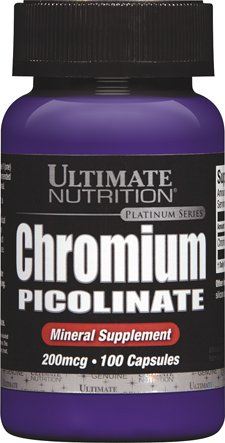 Ultimate Nutrition Platinum Series - Platinum Series Chromium Picolinate -- 100 Capsules