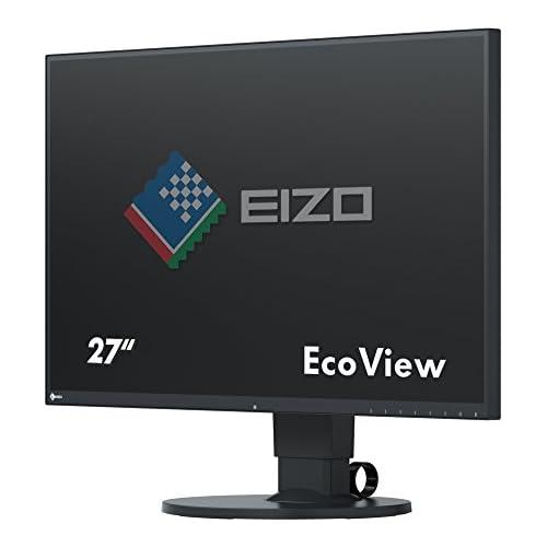 chollos oferta descuentos barato EIZO FleXScan EV2750 Monitor Profesional 27 Resolución 2560 x 1440 Panel IPS Marco de 1 mm ángulo visión 178 350 CD 5 ms LED Negro 68 5 cm