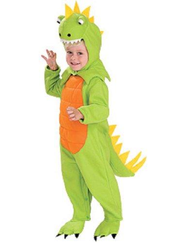 Toddler Dinosaur Costumes (Rubies Talking Plush Dinosaur Child Costume, Small)