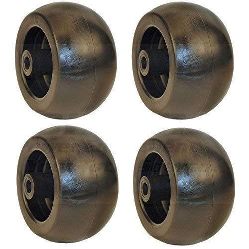(Set of 4 Heavy-Duty Plastic Deck Wheel Cub Cadet 753-04856A)
