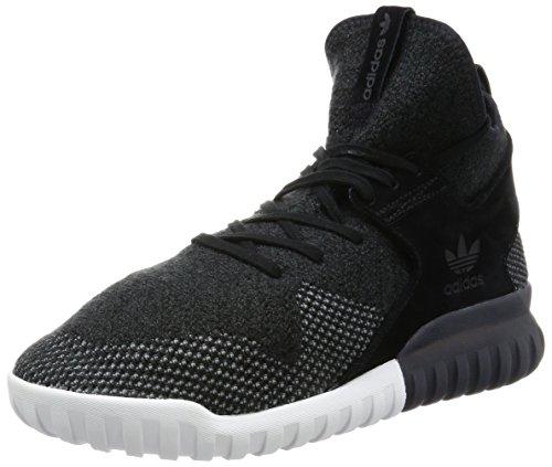 adidas Tubular X PK, Chaussures de Basketball Homme Noir (C Black / Dk Grey / Chsogr)