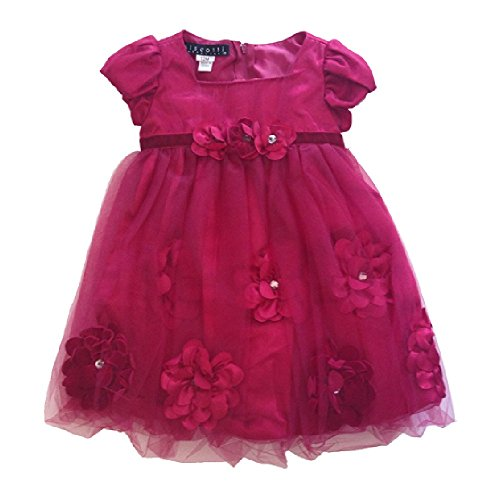 Biscotti Little Girls Dress Red (24M)