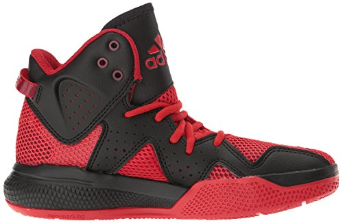 Pictures of adidas Kids' DT Bball Mid J Skate Shoe Black/White M US Big Kid 3