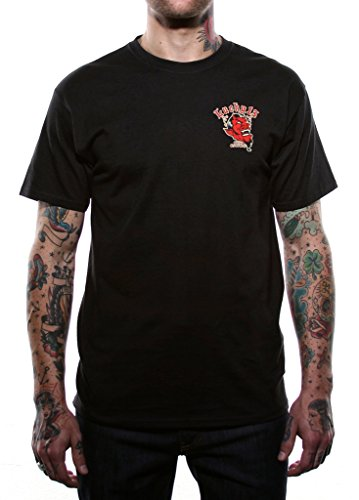 Lucky 13 Men's Grease Gas & Glory T-Shirt L Black