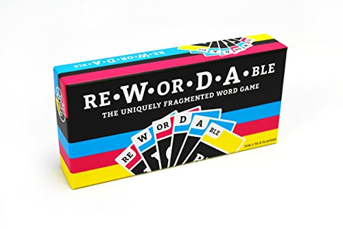 (Rewordable Card Game: The Uniquely Fragmented Word Game )