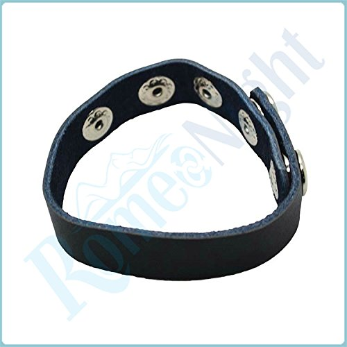 SlimArmor TM Intimate PU Leather Adjustable C-o-c-k Rings, Male S-e-x T-o-y-s P-e-n-i-s Rings Ero-ti-c S-e-x Products