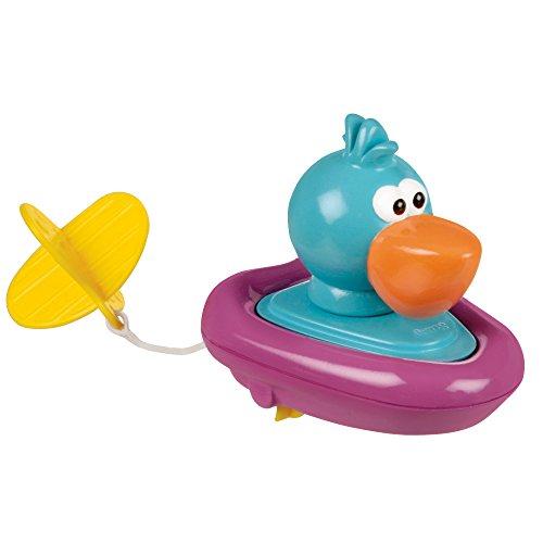 Sassy Pull and Go Boat Bath Toy, Pelican (Toy Infant Bath Sassy)