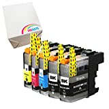 INKMATE Compatible Ink Cartridge for Brother LC203 XL LC203XL High Yield (2 Black LC203BK, 1 Cyan LC203C, 1 Magenta LC203M, 1 Yellow LC203Y) 5 Pack