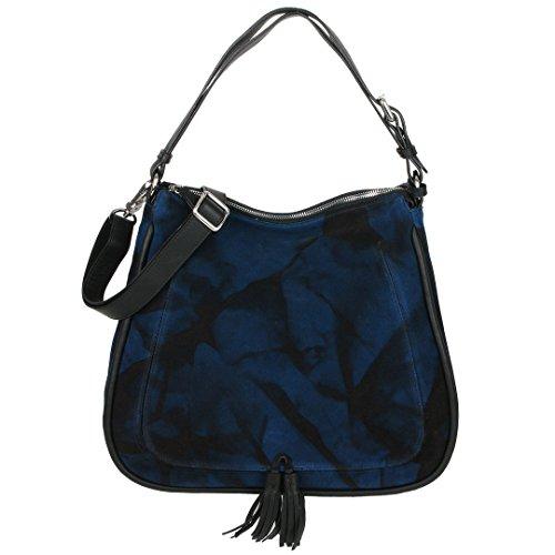 Abro - Bolso al hombro de Piel para mujer azul azul cobalto