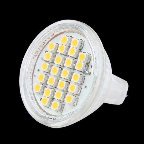 10 opinioni per MR11 GU4 LAMPADA LAMPADINA 24 LED SMD BIANCO CALDO 3600K