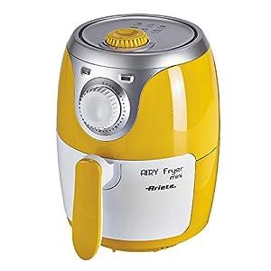 Ariete 4615 Airy Fryer Mini, Friggitrice ad aria senza olio, 1000 W, Capacità 2 Litri, Facile da pulire, Giallo 3