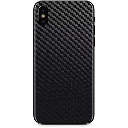 Skinit Carbon Fiber iPhone Xs Max Skin - Officially Licensed Skinit Originally Designed Phone Decal - Ultra Thin, Lightweight Vinyl Decal Protection