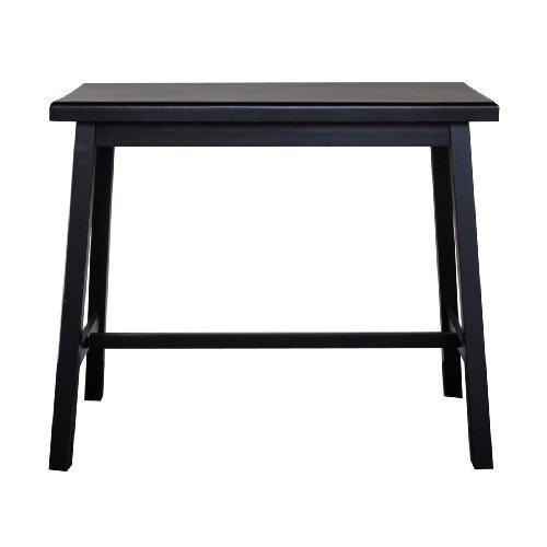 Asian Bar Table - Carolina Cottage 4222-AB Asian Bar, Antique Black