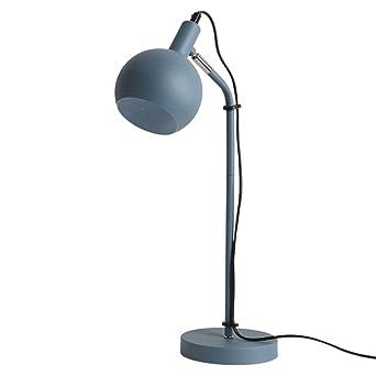 A-Lnice Lámpara de escritorio con base metálica - Vintage y ...