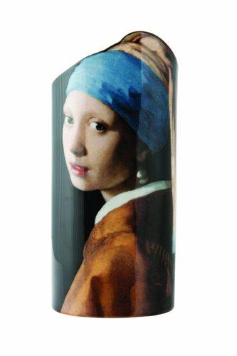 John Beswick 22.5 x 10.5 cm Vermeer Girl with the Pearl Earring Silhouette d'art Vase, Multi-Colour by John Beswick by John Beswick (Image #2)