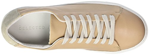 SELECTED Sneaker New Sfdonna Femme Basses FEMME Leather Sneakers r46ryzwq