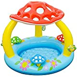 """Intex Mushroom Inflatable Baby Pool, 40"""" X 35"""", for Ages 1-3"""