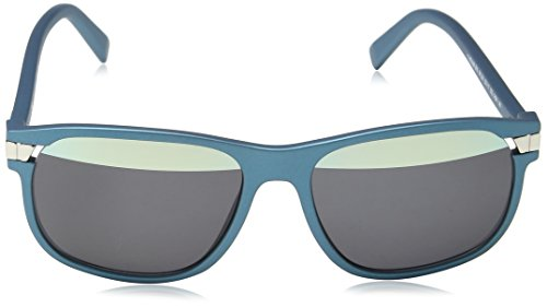 Police Herren Sonnenbrille SPL231, Blau (Matt Denim Blue), Einheitsgröße