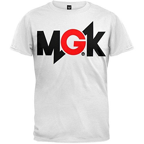 MGK - Mens Logo Soft T-shirt - Large White