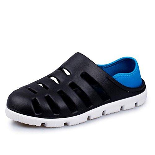 Casual Fashion Sandali Sandali Black Beach LE Half da KAI Uomo Teen Slippers LE Estivi Shoes Bq8wPtPf