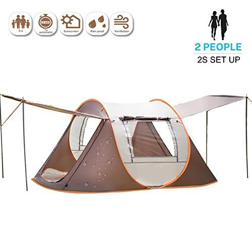 🥇 Tienda de Campaña 2s Pop Up Tienda Instantánea para 2 Personas con Bolsa para Camping