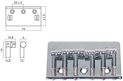 Cordal para guitarra eléctrica Cromo Boston b-1500-c: Amazon.es: Instrumentos musicales