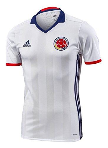 合図リダクター来てadidas Colombia Home Authentic Soccer Jersey Copa America Centenario 2016/サッカーユニフォーム コロンビア ホーム用 オーセンティック 2016