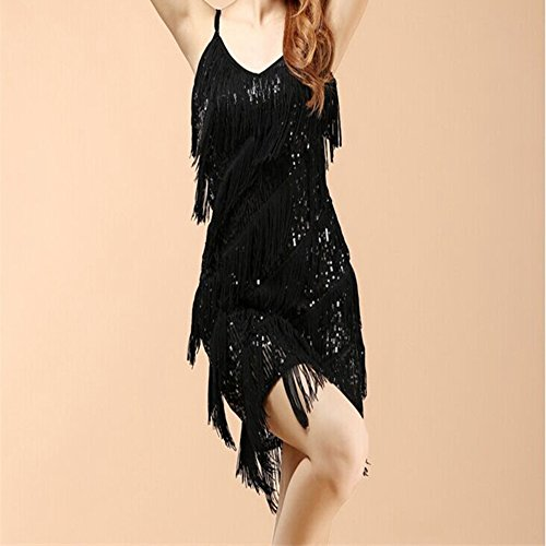 Amazon.com: HUIJSNQ Woman vestido gold vintage great gatsby sequin party dress plus size cheap slip sexy summer dress: Clothing