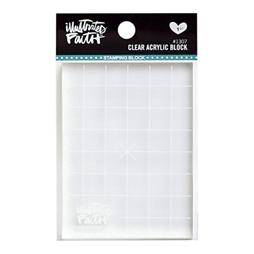 DaySpring Inspirational Clear Acrylic Block Designed for Stamp