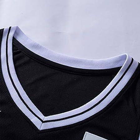 Camisetas de baloncesto para hombre, Kyrie Irving # 11 Brooklyn Nets Uniforme de baloncesto clásico Comodidad Chalecos sin mangas de secado rápido y transpirable Tops,Negro,XL