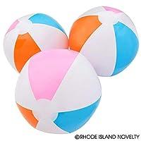 Rhode Island Novelty 12 Beach Ball Inflates - Approx. 16 Inch - New