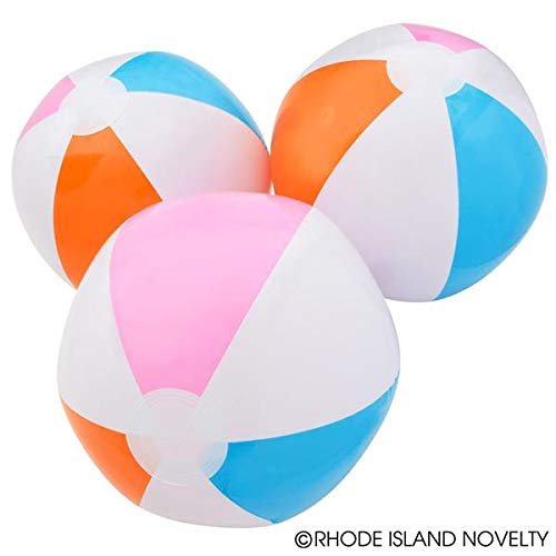 Rhode Island Novelty 12 Beach Ball Inflates - Approx. 16