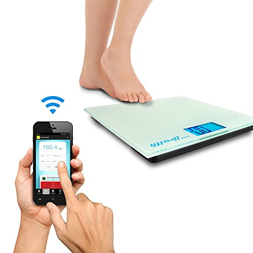 Pyle Smart Bathroom Body Scale with Bluetooth Wireless ...