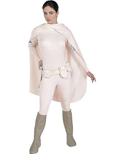 Deluxe Padme Amidala Adult Costume - Medium - Star Wars Padme Blaster