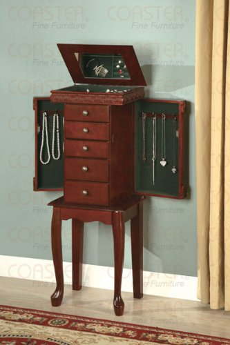 coaster-900115-jewelry-armoire-with-fluted-accents