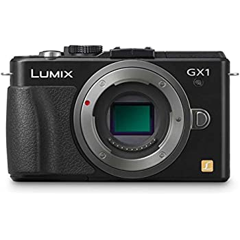 Amazon.com: Panasonic Lumix DMC-GX1 16 MP Micro 4/3 Cámara ...