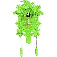 Holz batteriebetriebene Uhr geschnitzt Generic 1 St/ück Kreative Kuckucksuhr handgefertigte Uhr a