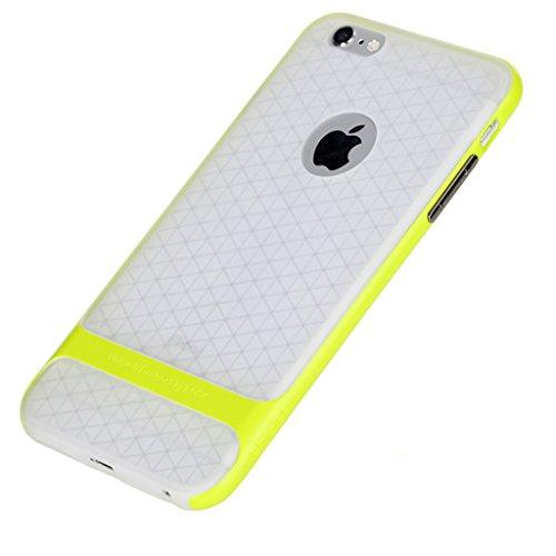 iPhone 6s Plus Case,I3C Ultra Slim TPU+PC Bumper Cover Case for iPhone 6s Plus Green