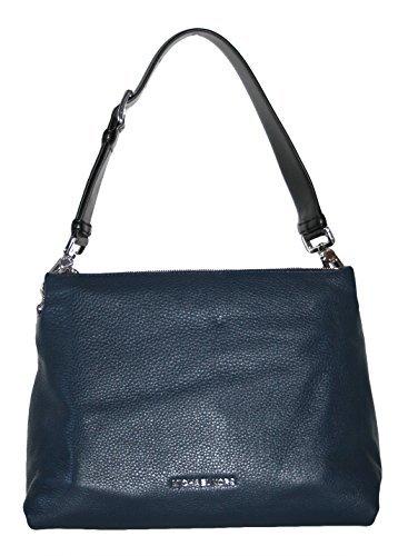 MICHAEL Michael Kors Jane Large Shoulder Bag (Navy) (Michael Kors Jane)