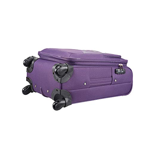 Skybags Footloose Wellington Polyester 56 cms Purple Softsided Carry-On (STFWE56EPPL)