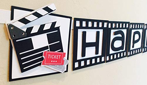 Cinema Movie Hollywood Theme Party Banner -