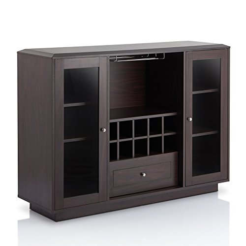 - ioHOMES Olympia Multi Storage Dining Buffet, Espresso