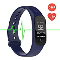 MGcool Fitness Tracker Smart Band Continuous Heart Rate Monitor