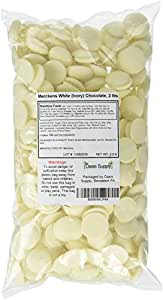 Merckens Ivory Chocolate, Rainbow White, 2 Pounds (Packaging May Vary)