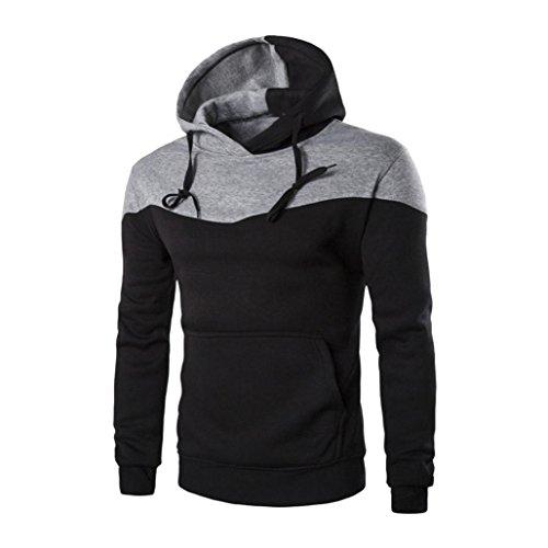 Men's Sweater,Neartime Winter Slim Hoodie Warm Hooded Sweatshirt Sweaters for Men