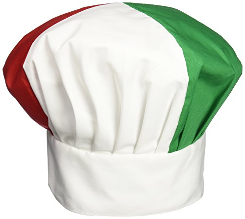 Beistle 60877-RWG Oversized Fabric Chef's Hat
